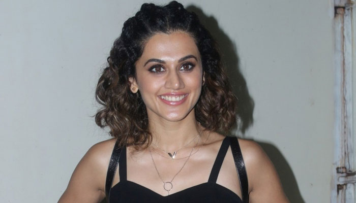 Taapsee Pannu starts filming for Sandeep Singh's biopic