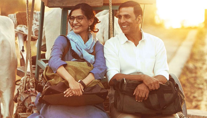 Akshay Kumar perfect person to play Padman, says Sonam Kapoor