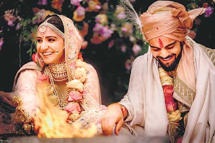 Virat, Anushka wed in Italy, begin new innings
