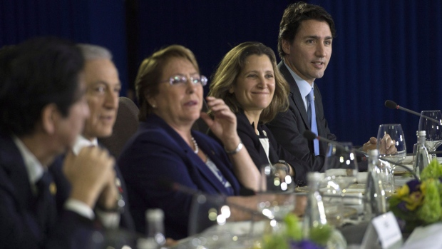 Canada, TPP members agree to revised deal without the U.S.
