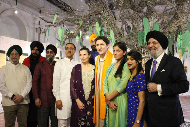 Trudeau visits Partition Museum at Amritsar