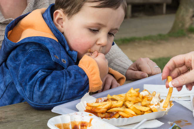Kids' snacking patterns may be genetic