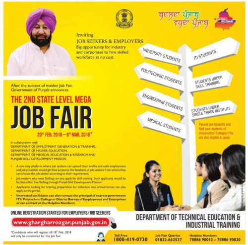 Cong govt invites applications for job fair through advertisements one day after registrations have closed – SAD