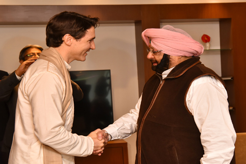 Canada does not support any separatist movement, Trudeau tells Capt Amarinder